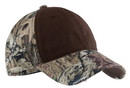Port Authority - Camo Cap with Contrast Front Panel. C807.
