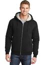 CornerStone® Heavyweight Sherpa-Lined Hooded Fleece Jacket - CS625
