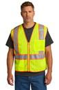 CornerStone ® ANSI 107 Class 2 Mesh Zippered Two-Tone Vest - CSV103