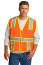 CornerStone ® ANSI 107 Class 2 Surveyor Zippered Two-Tone Vest - CSV105