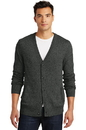 District - Mens Cardigan Sweater. DM315.