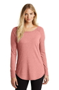 District Made  Ladies Perfect Tri  Long Sleeve . DT132L.