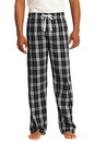 District - Young Mens Flannel Plaid Pant. DT1800.