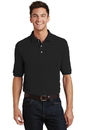 Port Authority - Pique Knit Polo with Pocket. K420P.