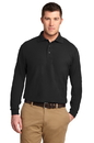 Port Authority - Long Sleeve Silk Touch Polo. K500LS.
