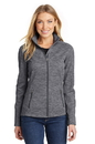 Port Authority Ladies Digi Stripe Fleece Jacket. L231.