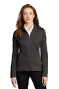 L249 Port Authority Ladies Diamond Heather Fleece Full-Zip Jacket
