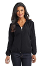Port Authority Ladies Hooded Essential Jacket. L305.