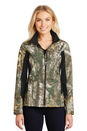 Port Authority Ladies Camouflage Colorblock Soft Shell. L318C.