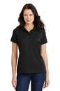 Port Authority - Ladies Poly-Bamboo Charcoal Blend Pique Polo. L497