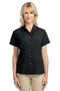 Port Authority - Ladies Patterned Easy Care Camp Shirt. L536.