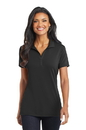 Port Authority Ladies Cotton Touch Performance Polo. L568.