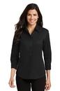 Port Authority - Ladies 3/4-Sleeve Easy Care Shirt. L612.