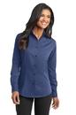 Port Authority - Ladies Tonal Pattern Easy Care Shirt. L613