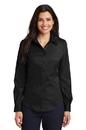 Port Authority - Ladies Long Sleeve Non-Iron Twill Shirt. L638