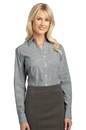 Port Authority - Ladies Plaid Pattern Easy Care Shirt. L639.