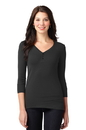 Port Authority Ladies Concept Stretch 3/4-Sleeve Scoop Henley LM1007