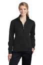 Sport-Tek Ladies Sport-Wick Fleece Full-Zip Jacket. LST241.