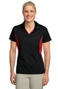 Sport-Tek - Ladies Side Blocked Micropique Sport-Wick Polo. LST655