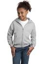 NEW Hanes - Youth ComfortBlend Full-Zip Hooded Sweatshirt. P480