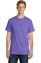 Port & Company Essential Pigment-Dyed Pocket Tee. PC099P.