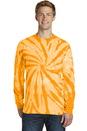 Port & Company Essential Tie-Dye Long Sleeve Tee. PC147LS.