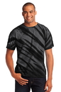 Port & Company - Essential Tiger Stripe Tie-Dye Tee. PC148.