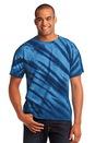 Port & Company - Essential Tiger Stripe Tie-Dye Tee. PC148.