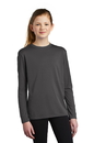 PC380YLS Port & Company Youth Long Sleeve Performance Tee