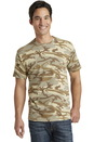 Port & Company 5.4-oz 100% Cotton Camo Tee. PC54C.