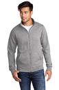 Port & Company ® Core Fleece Cadet Full-Zip Sweatshirt - PC78FZ
