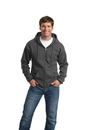 Port & Company - Classic Full-Zip Hooded Sweatshirt. PC78ZH.