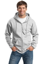 Port & Company Tall Ultimate Full-Zip Hooded Sweatshirt. PC90ZHT.