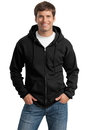 Port & Company - Ultimate Full-Zip Hooded Sweatshirt. PC90ZH.