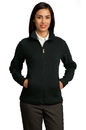 Red House - Ladies Sweater Fleece Full-Zip Jacket. RH55.