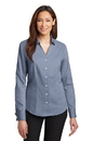 Red House - Ladies French Cuff Non-Iron Pinpoint Oxford. RH63.