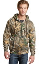Russell Outdoors Realtree Full-Zip Hooded Sweatshirt. RO78ZH.