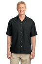 Port Authority - Patterned Easy Care Camp Shirt. S536.