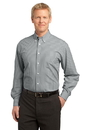 Port Authority - Plaid Pattern Easy Care Shirt. S639