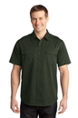 Port Authority - Stain-Resistant Short Sleeve Twill Shirt. S648.