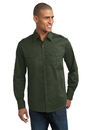 Port Authority - Stain-Resistant Roll Sleeve Twill Shirt. S649.