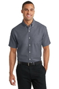 Port Authority Short Sleeve SuperPro Oxford Shirt. S659.
