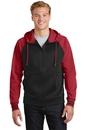 Sport-Tek Sport-Wick Varsity Fleece Full-Zip Hooded Jacket. ST236.