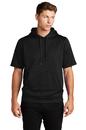 Sport-Tek Sport-Wick Fleece Short Sleeve Hooded Pullover ST251