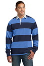 Sport-Tek Classic Long Sleeve Rugby Polo. ST301.