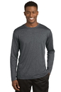 Sport-Tek Long Sleeve Heather Contender Tee. ST360LS.