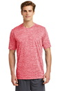 Sport-Tek PosiCharge Electric Heather Tee. ST390.