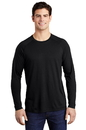 ST400LS Sport-Tek PosiCharge Long Sleeve Tri-Blend Wicking Raglan Tee