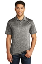 Sport-Tek  PosiCharge  Electric Heather Polo. ST590.