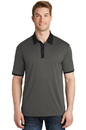 Sport-Tek Heather Contender Contrast Polo. ST667.